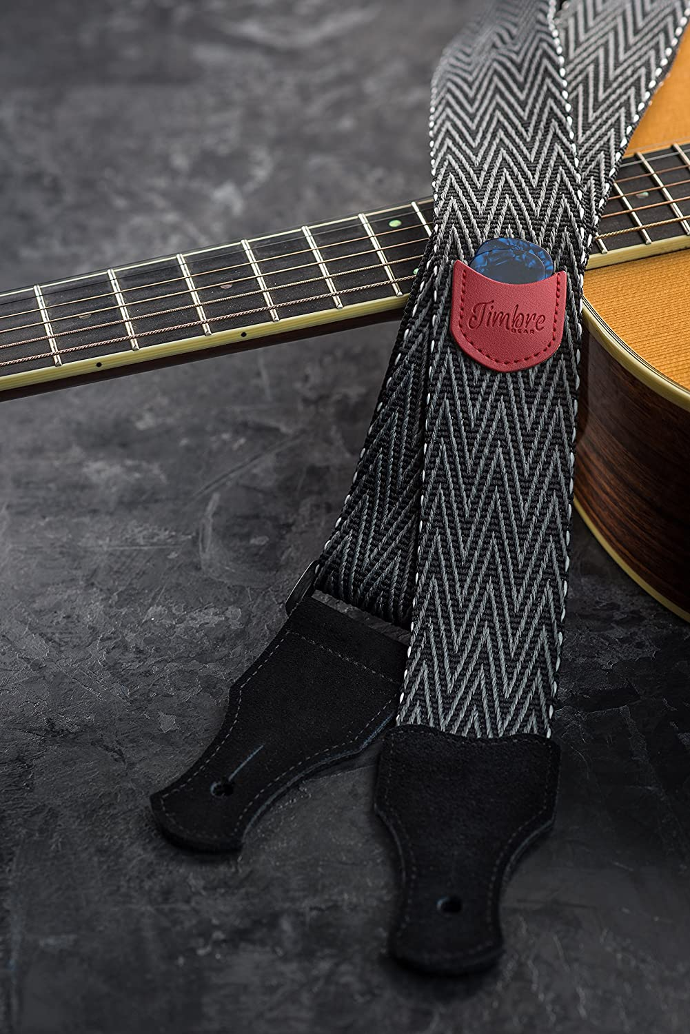 TIMBREGEAR extreme comfort acoustic guitar strap electric guitar strap free two guitar strap locks guitar strap button!