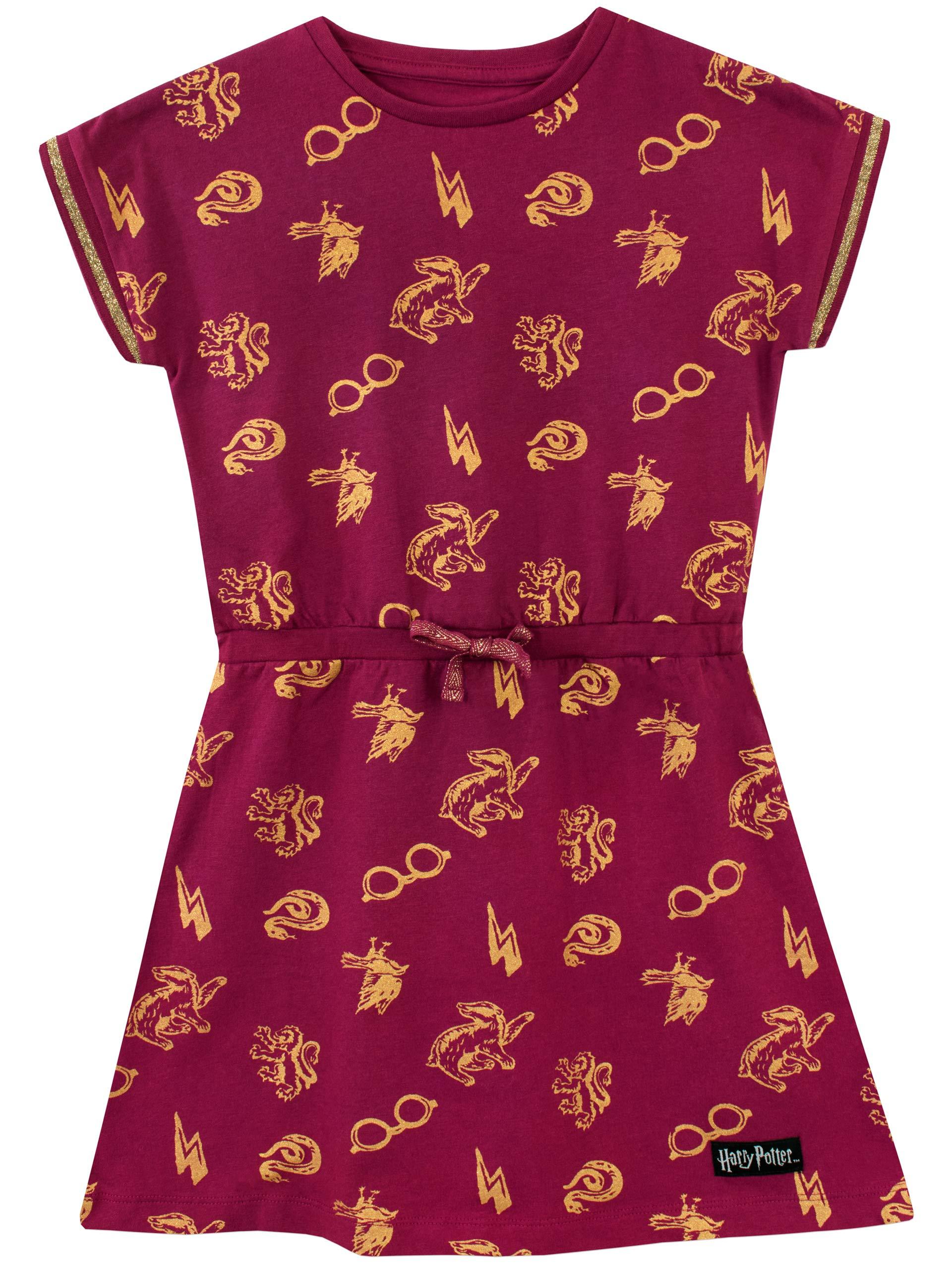 Harry Potter Girls' Hogwarts Dress Size 10 Red