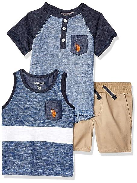 US Polo Assn U.S Boys Short Choose SZ//Color. Childrens Apparel H7SD49APV