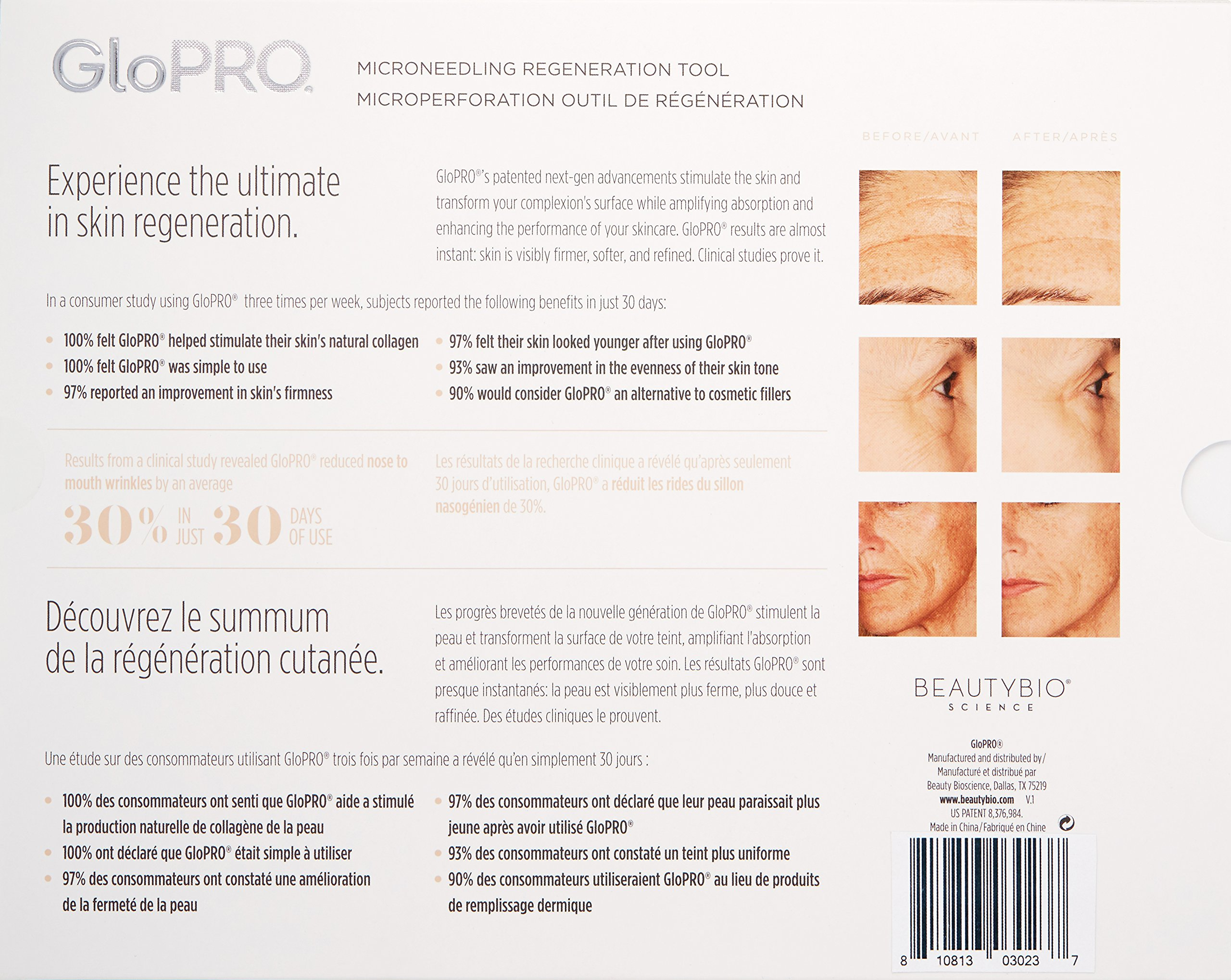 BeautyBio GloPRO Microneedling Tool and Face MicroTip Attachment Head by Beauty BIO (Image #2)