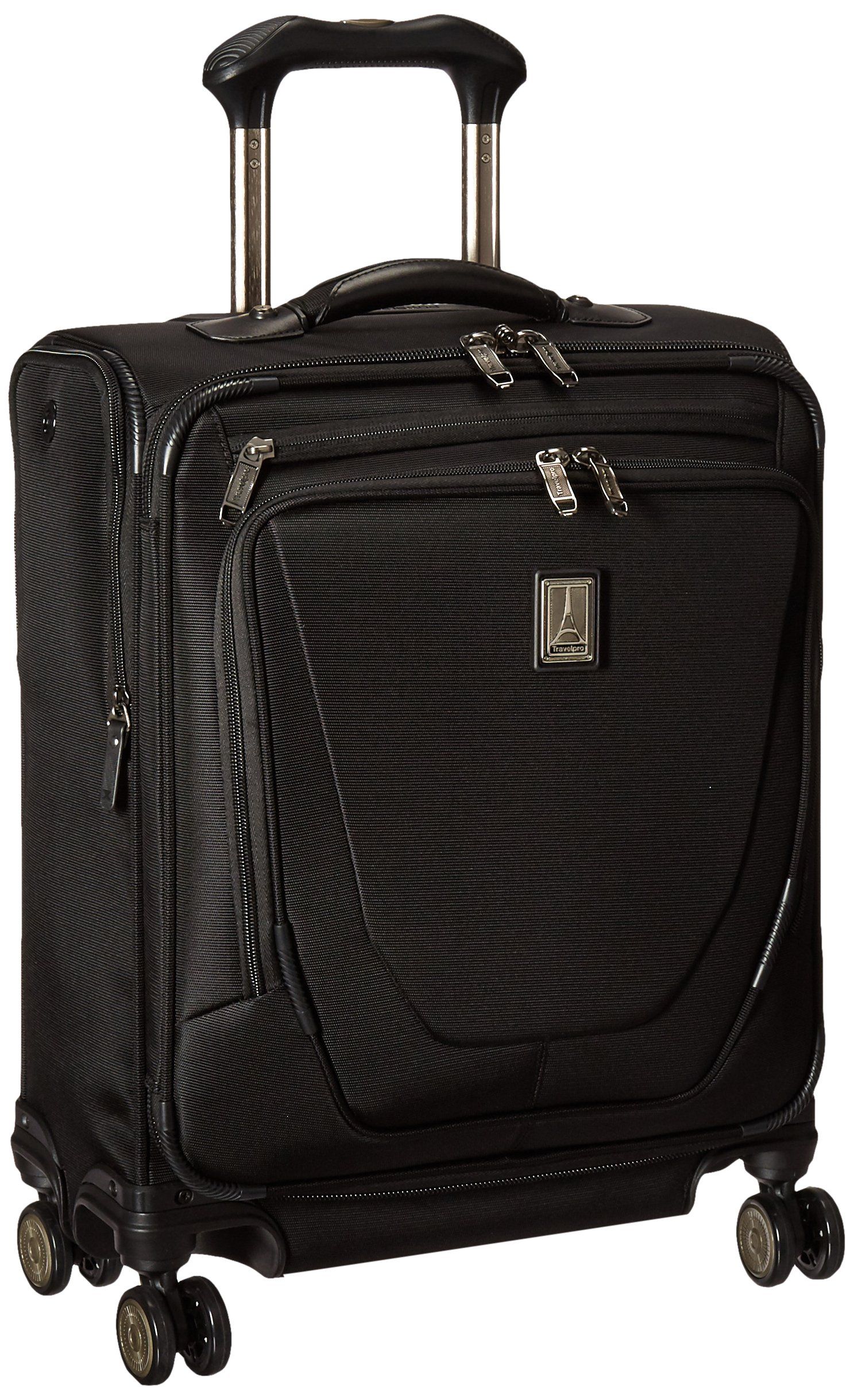 Travelpro Crew 11 20'' International Spinner Carry-on Suitcase, Black