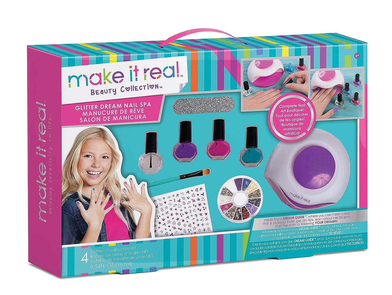 Amazon.com: Make It Real - Glitter Dream Nail Spa. Nail Art Manicure ...