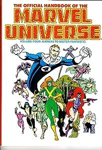 The Official Handbook of the Marvel Universe: Karkas to Mister Fantastic