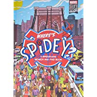 Where's Spidey?: A Search and Find Activity Book (Marvel)