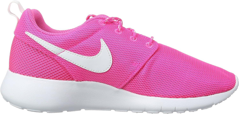 Nike Roshe One Pink Blast//White Big Girls/' Running Shoes 599729-611 GS