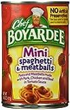 Chef Boyardee Mini Spaghetti & Meatballs, 14.5 oz