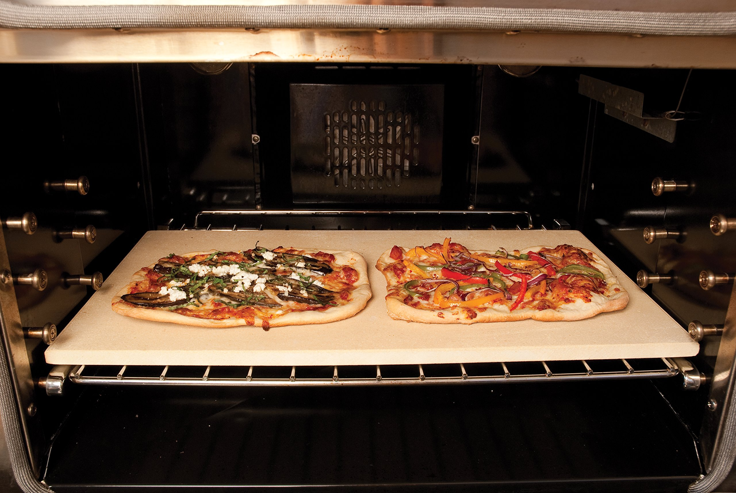Pizzacraft PC9899 20 x 13.5 Rectangular ThermaBond Baking/Pizza Stone for Oven or Grill by Pizzacraft (Image #4)