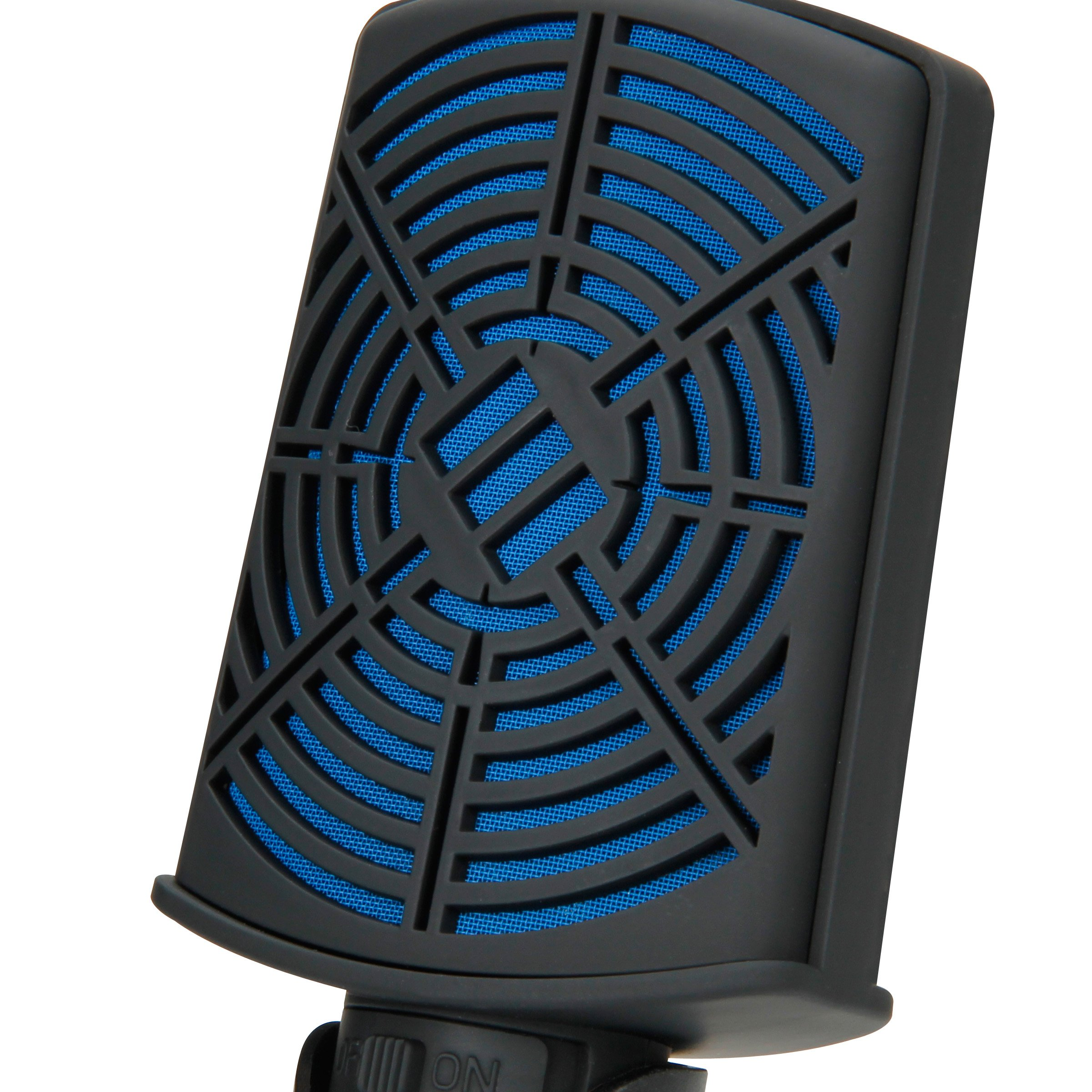 ENHANCE USB Condenser Gaming Microphone - Computer Desktop Mic for Streaming & Recording with Adjustable Stand Design and Mute Switch - For Skype, Conference Calls, Twitch, Youtube, and Discord - Blue by ENHANCE (Image #7)