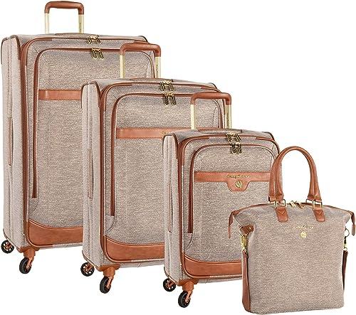 Tommy Bahama Luggage, Brown Lurex, 4 Piece