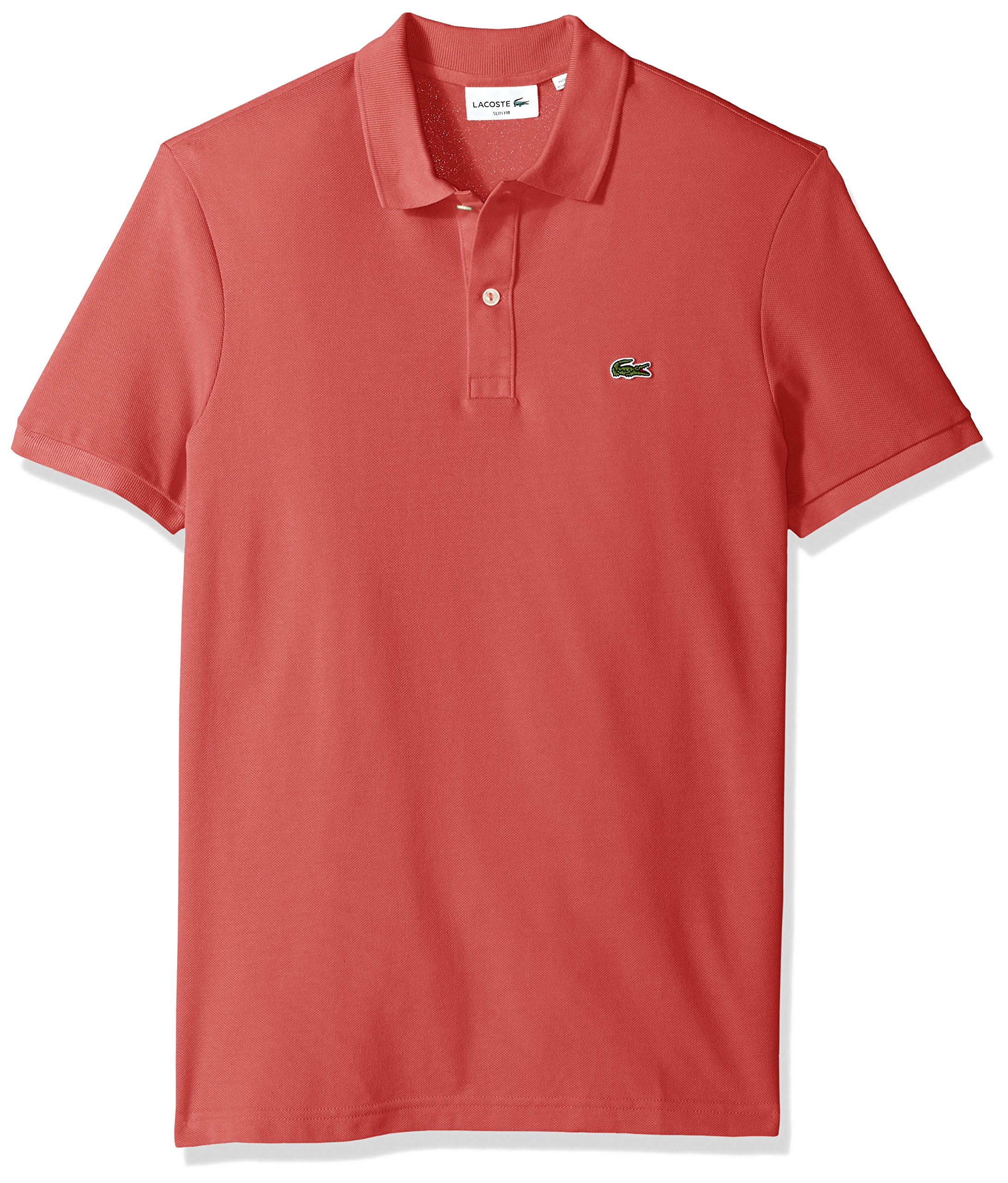 19e0119dd Galleon - Lacoste Men s Petit Piqué Slim Fit Polo Shirt