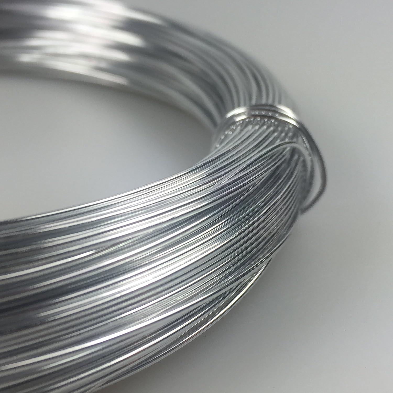 Aluminiumdraht Aludraht Basteldraht 1mm 10m silberglanz: Amazon.de ...