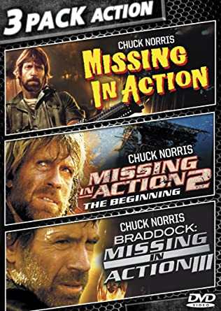 Missing In Action / Missing In Action 2: The Beginning / Braddock: Missing  In  Missing In Action Poster