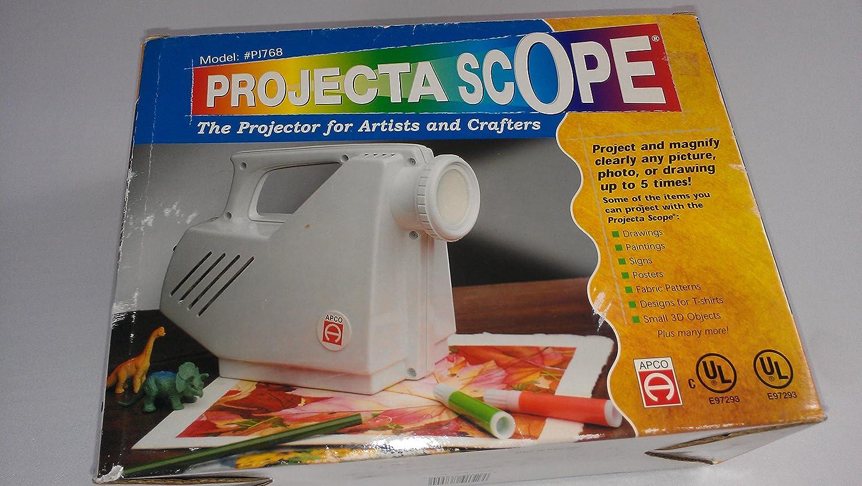 Projecta Scope 1:1 pantalla de proyección: Amazon.es: Juguetes y ...