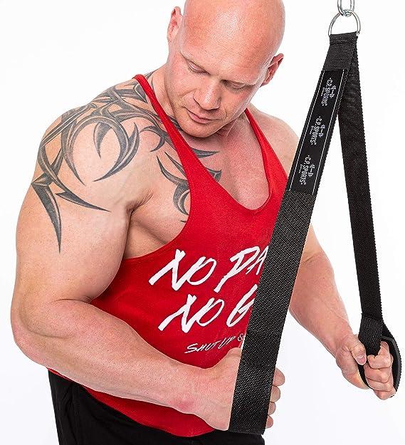 tricipiti corda cavo sport Gymmastic Exercise multi allegato palestra bodybuilding cavo