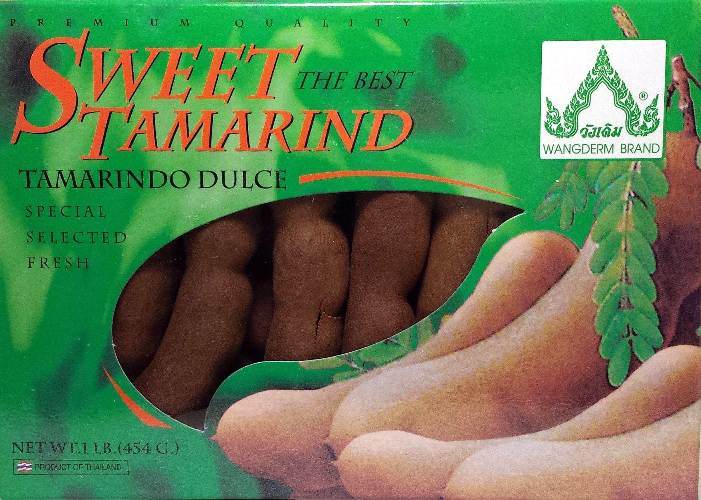 Sweet Tamarind Balls (6 Pack) 16oz Ea by Wang Derm