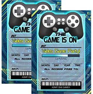 Amazon Com 10 X Video Game Gaming Boys Personalized Childrens