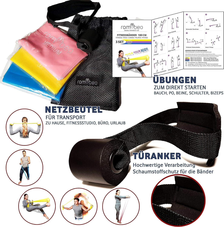 Fitnessband Sport Fitnessbänder Gymnastikband Lang Widerstandsbänder 1500*150mm