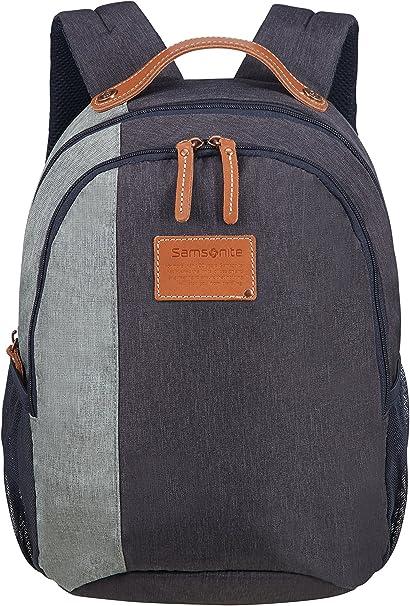 15 liters Blue Backpack Small 0.4 KG Casual Daypack SAMSONITE Rewind Natural 38 cm River Blue