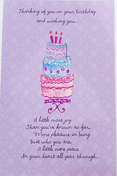 Thinking Of You On Your Birthday And Wishing You A