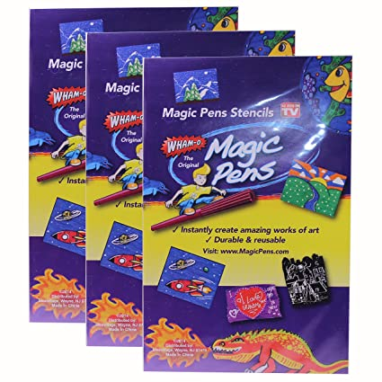 Wham-O Non-Toxic Washable Magic Pens Set - Box of 20 Colour Pens (A1515)