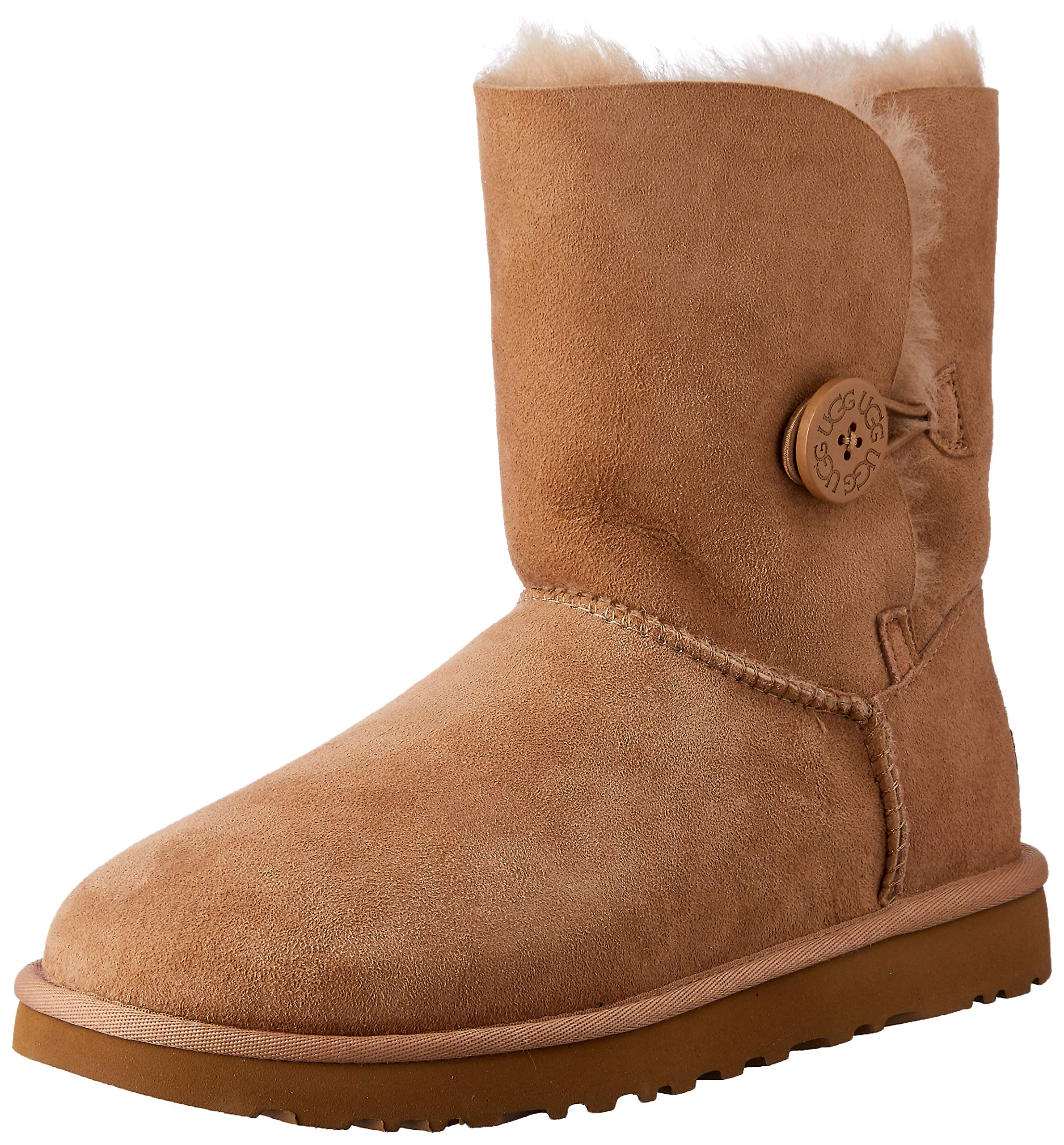 UGG New Women's Bailey Button II Boot Fawn 5