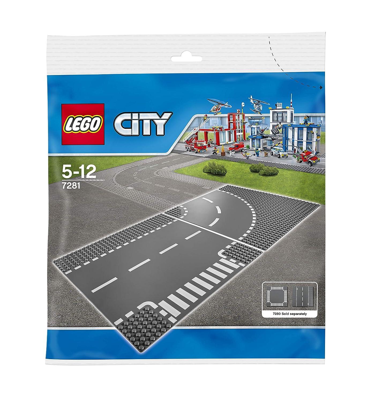 Lego - 7281 - City Supplementary - Incrocio a T e curva Lego Italy