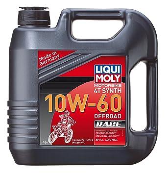Liqui Moly 3054 Aceite de Motor 4t 10 W - 60 sintético Road ...