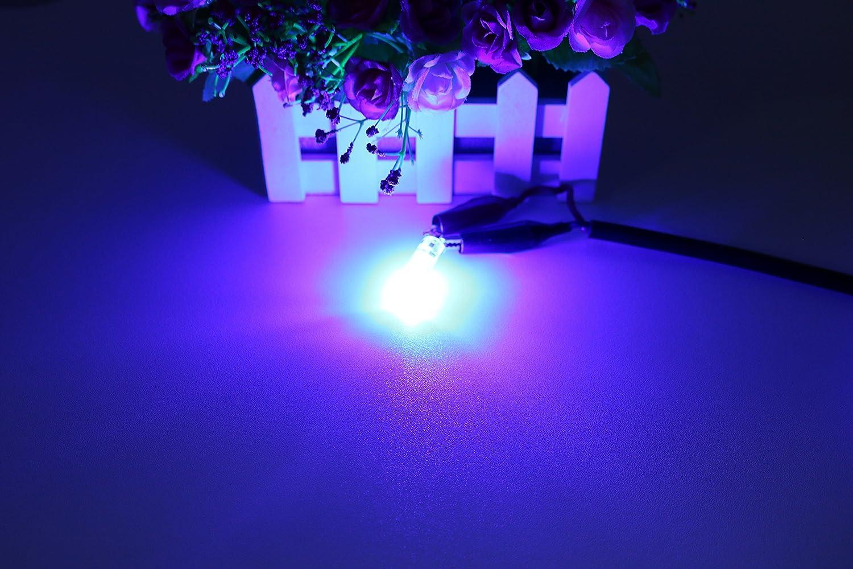 Vc LED Light Bulb Auto Remote Controlled Colorful LED Lamp T10 6 LED Reading Light Roof Light Trunk Light or Interior Light