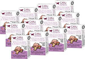 Caru - Stew for Cats, Natural Cat Food with Added Vitamins, Non-GMO Ingredients, Complete & Balanced for All Stages of Life (6 oz) - Case of 12