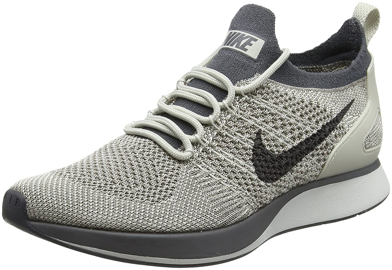 NIKE Womens Air Zoom Mariah Flyknit Racer Running Trainers Aa0521 Sneakers Shoes B0763RX6GN 5.5 B(M) US|Pale Grey / Dark Grey