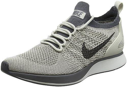 Nike Women Air Zoom Mariah Flyknit Racer grey pale grey dark grey-summit  white Size a313cfa95