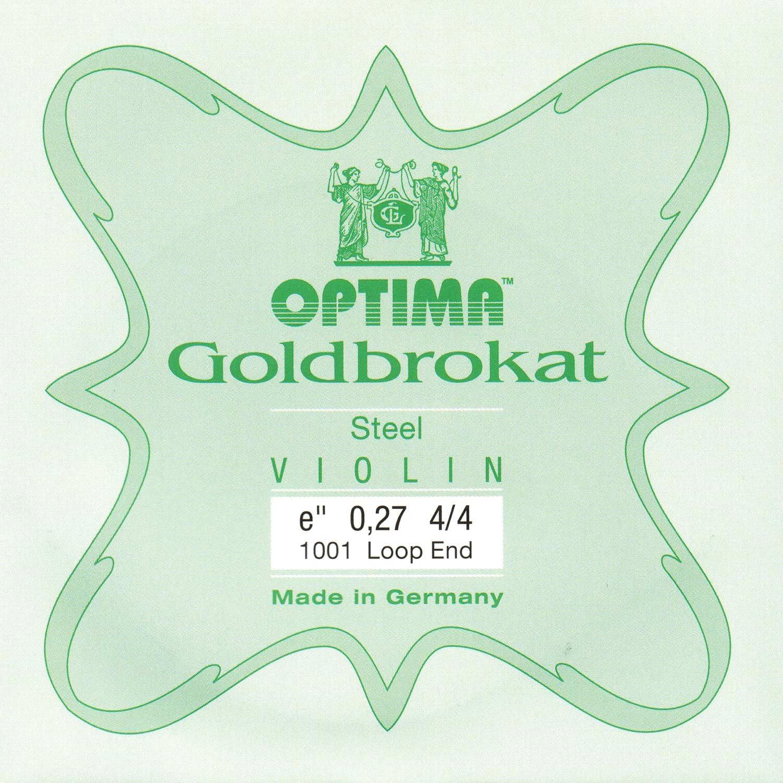 Lenzner Goldbrokat Violin E String 4//4 Ball Extra Thick