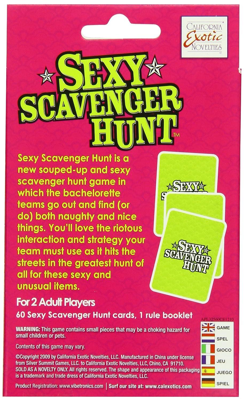 Sexy scavanger hunt