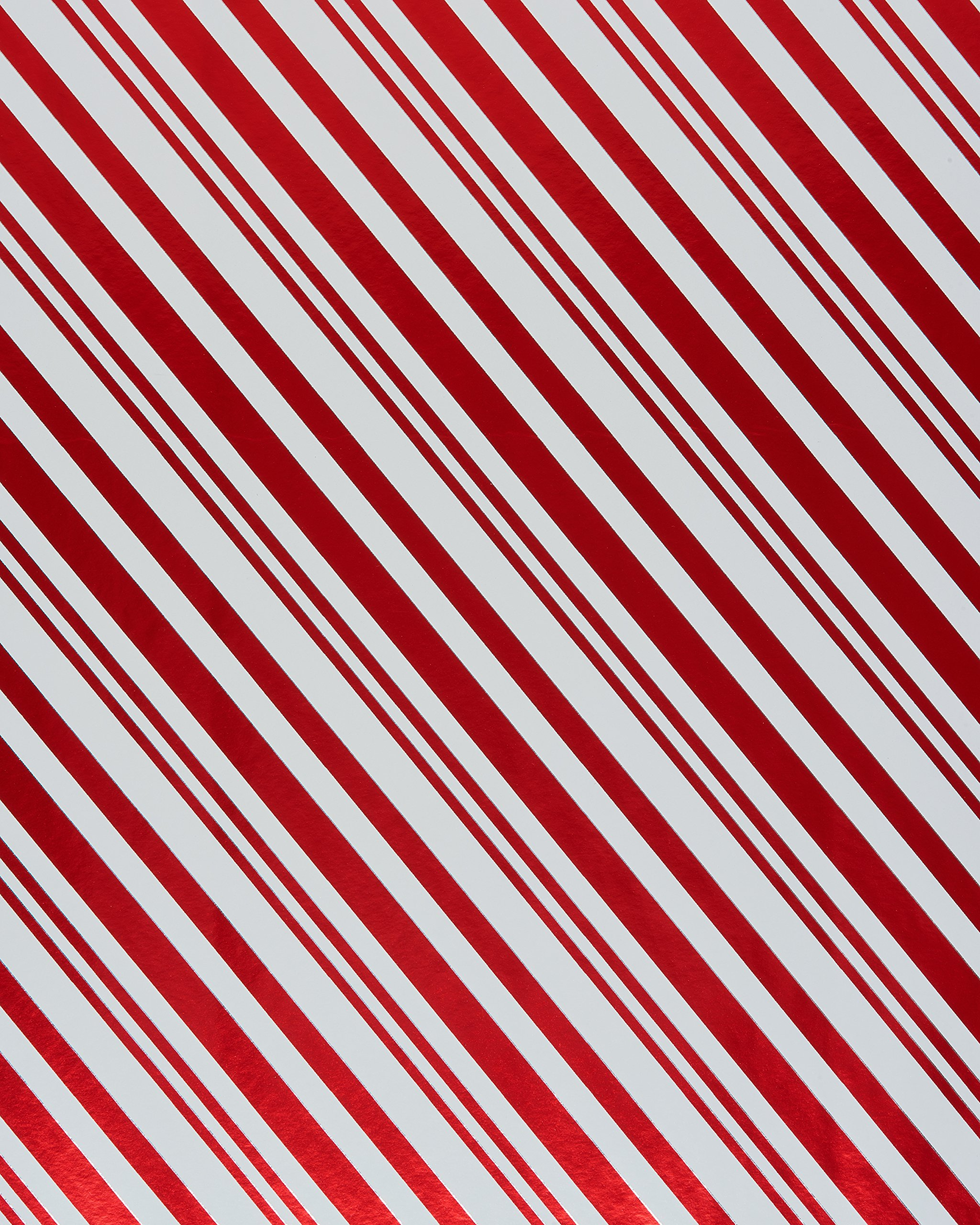 American Greetings Holiday Friends Candy Cane Stripes And Santa