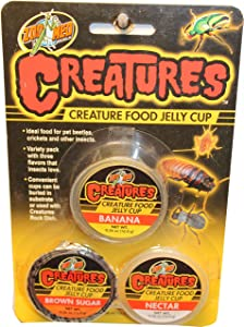 Zoo Med Creatures Creature Food Jelly Cup - 3 pk