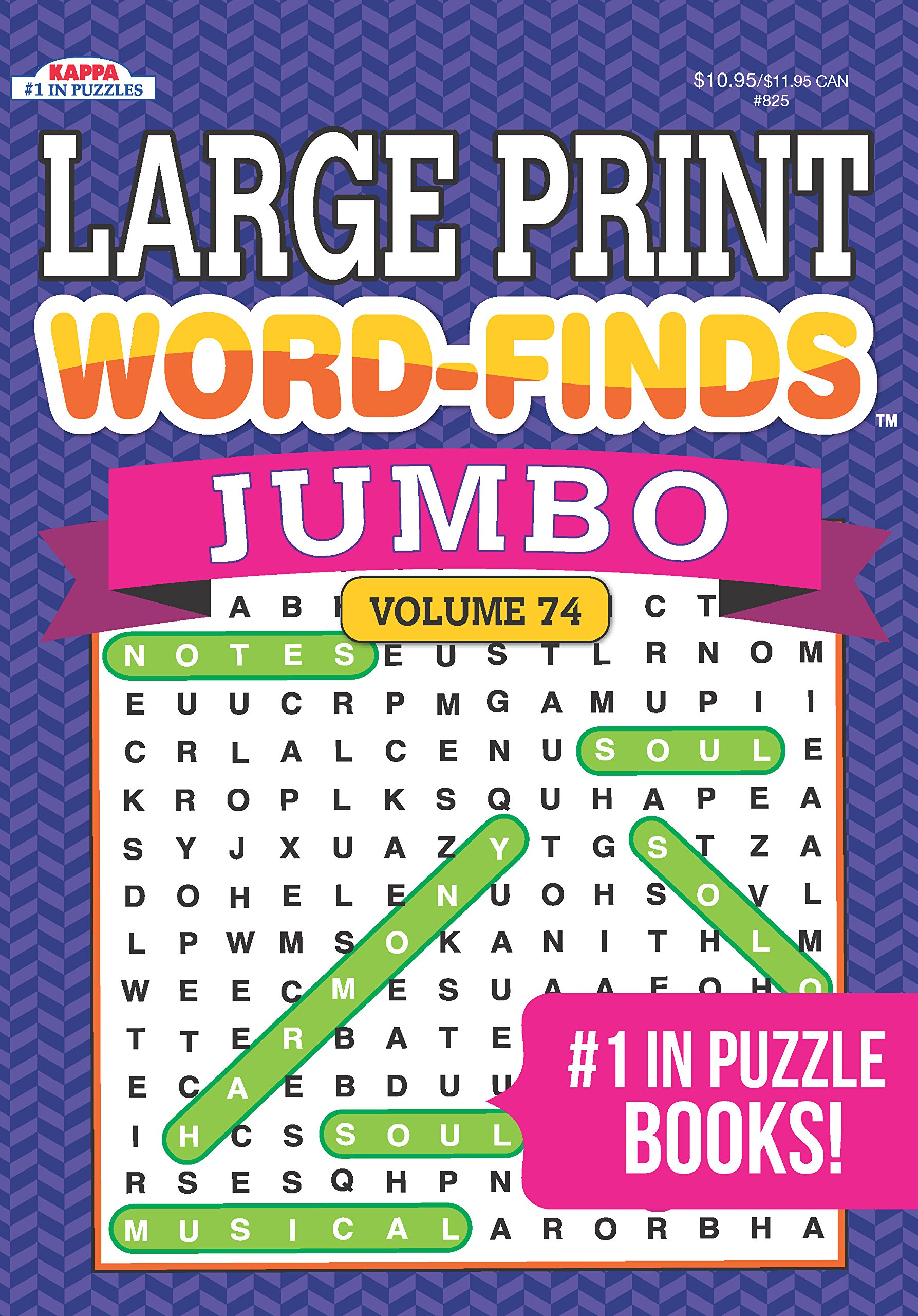 picture about Large Printable Word Search called Jumbo Hefty PRINT Phrase-Reveals Puzzle E book-Phrase Appear Amount 69