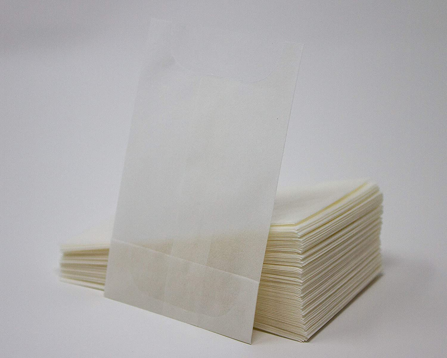 Confetti Favours Seed Open Top Glassine Bags Pack of 100 75 x 55mm