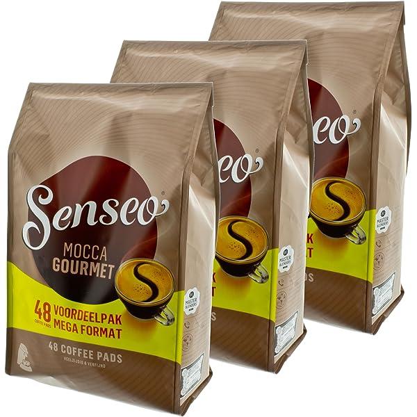 Para cápsulas Senseo Mocca Gourmet, fresco e intenso, café para ...