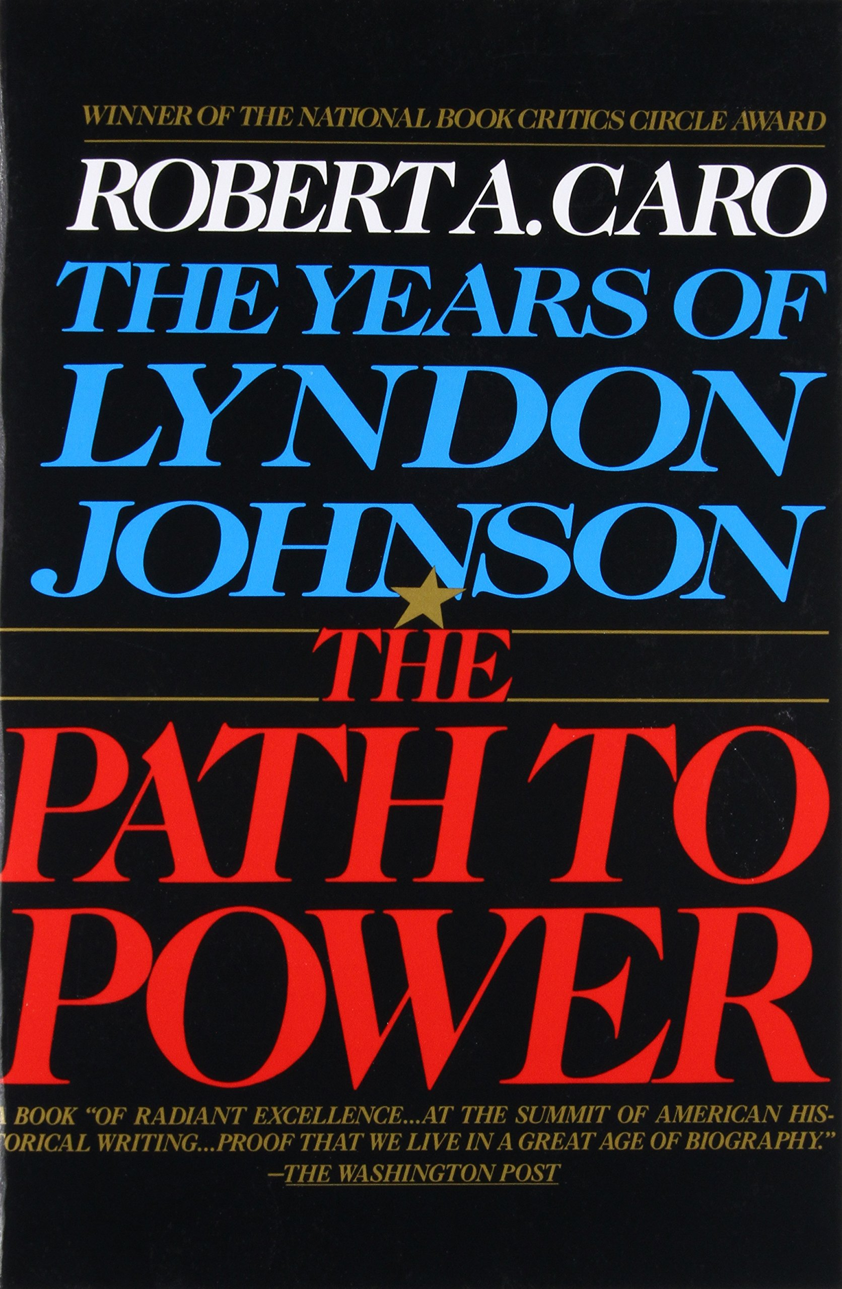 The Path to Power (The Years of Lyndon Johnson, Volume 1)