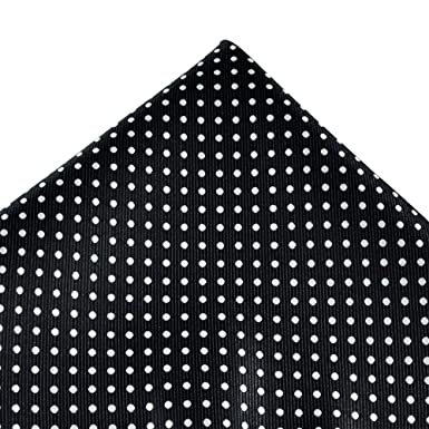 f001945d96f96 Image Unavailable. Image not available for. Colour: Navy Blue & White Polka  Dot Pocket Square Handkerchief