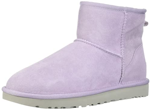 6c0590f5b52 UGG Women's Classic Mini II Fashion Boot, Lavender Fog, 11 M US