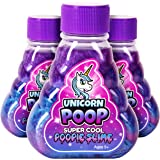 Kangaroo's Super Cool Unicorn Poop Slime, 3 Pack