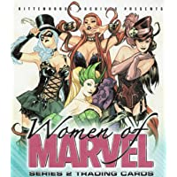 2013 WOMEN OF MARVEL TRADING CARDS - COMPLETE 90 CARD SET