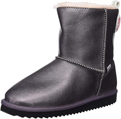e6055cbcaf Pepe Jeans London Girls' Angel Teeth Snow Boots, Silver (Dapple 964),