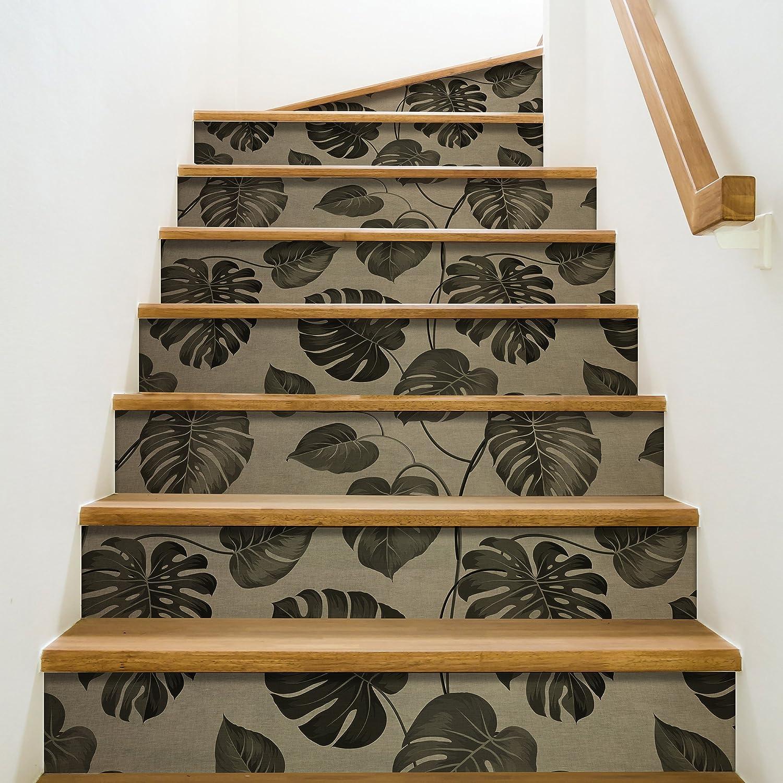 Playa Adhesivo para contremarches de escaleras, Vinilo, 100 x 0,1 x 19 cm: Amazon.es: Hogar