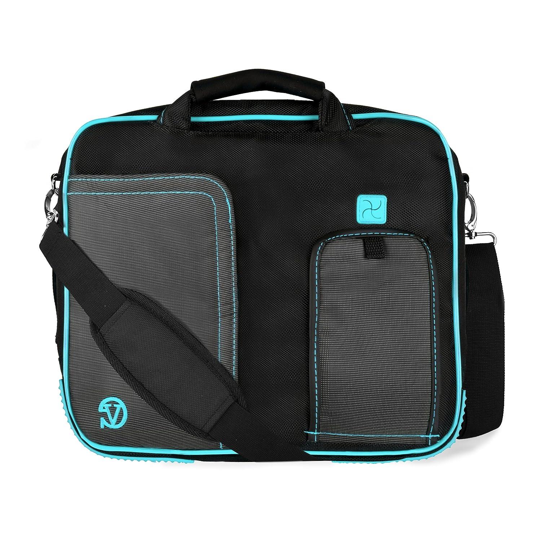 Aqua Pindar Messenger Bag for HTC Google Nexus 9 Tablet 8.9-inch