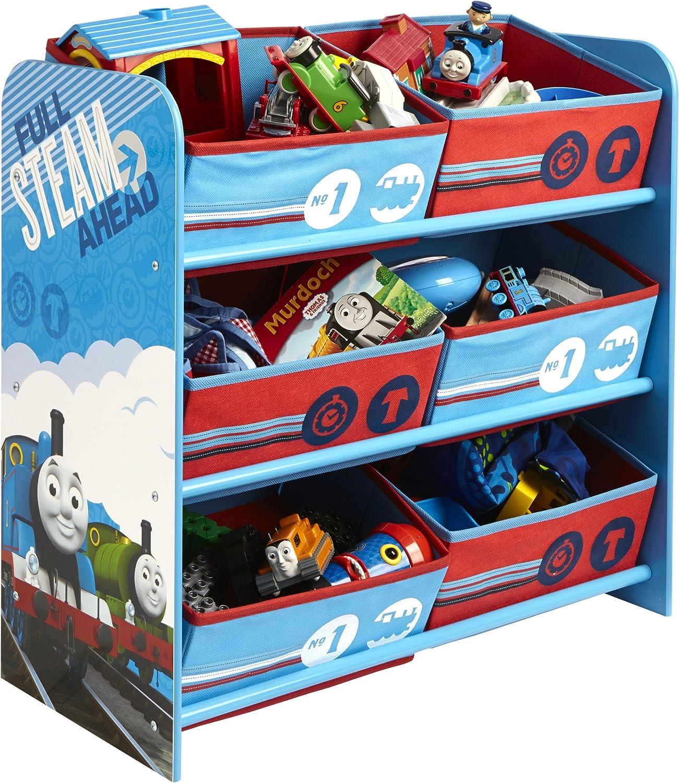 Thomas & Friends Worlds Apart - Organizador de Juguetes con 6 cajones, diseño de Tomás, la Locomotora