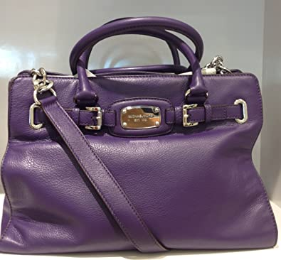 a20313aa95b9d Amazon.com  Michael Kors Hamilton LG EW Tote Iris  Shoes
