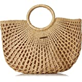 O'Neill Women's Sayulita Woven Straw Tote, Natural, One Size
