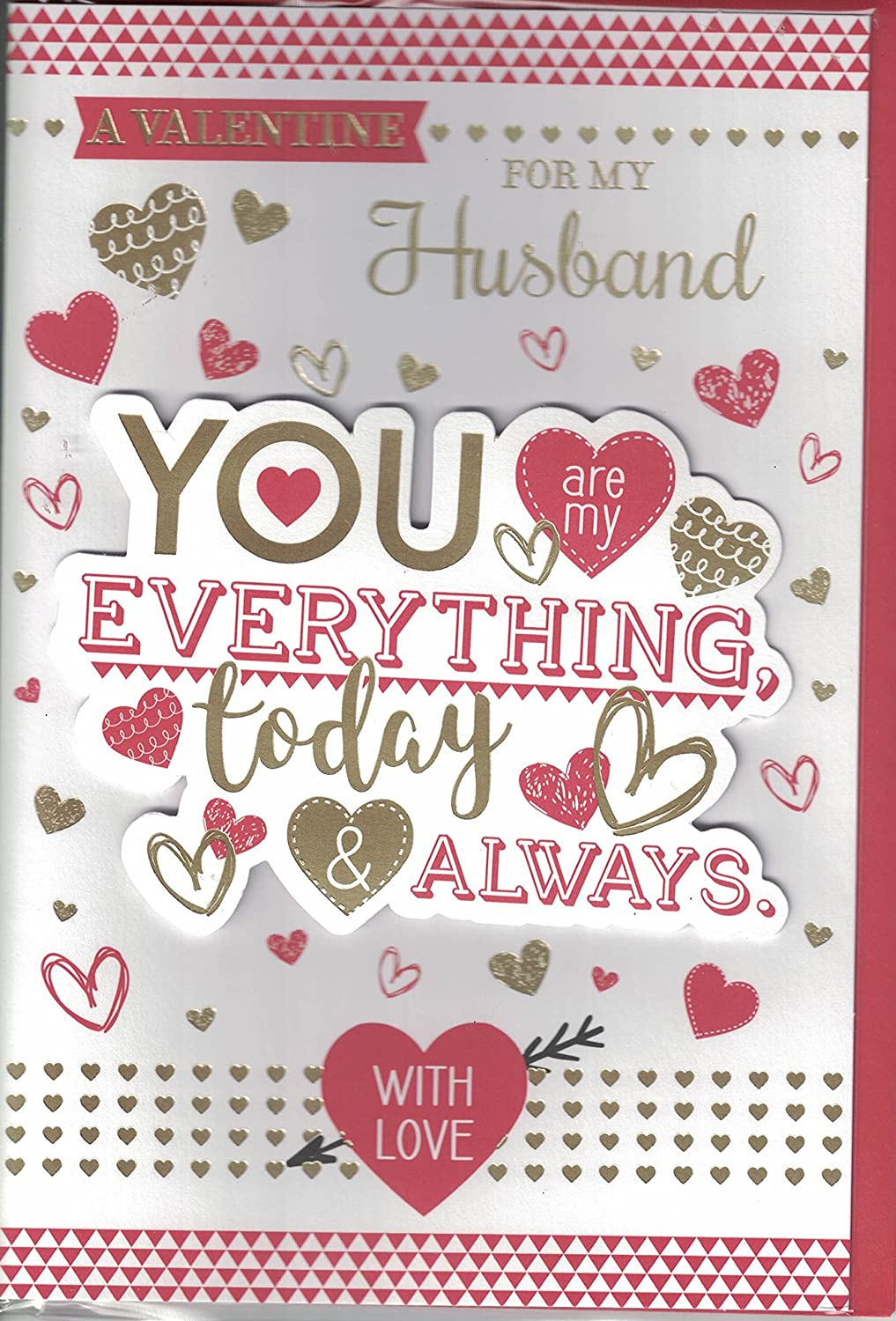 Valentines Day Card A Valentine For My Husband You Are My